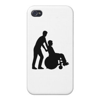 Wheelchair carer iPhone 4/4S case