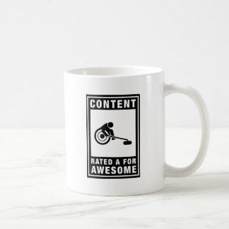 Wheelchair Curling Basic White Mug