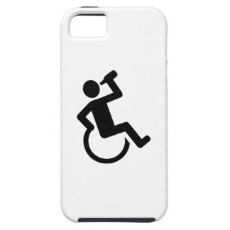 Wheelchair drinking iPhone 5 cases
