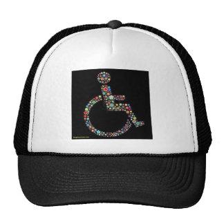 wheelchair_funky_zazzle jpeg mesh hats