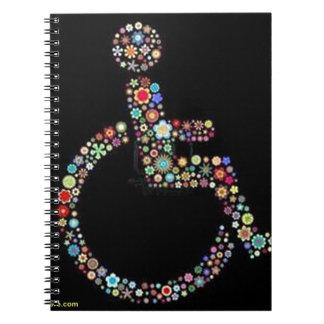 wheelchair_funky_zazzle jpeg notebook