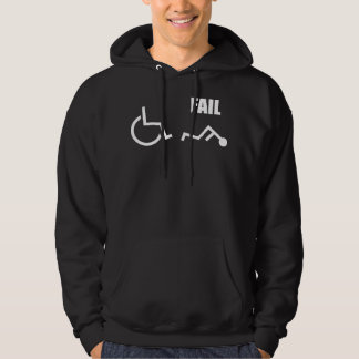 wheelchair handicapped fail pwned owned hoodie