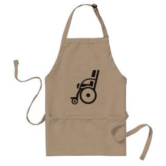 Wheelchair Icon Apron
