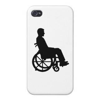 Wheelchair iPhone 4/4S Covers