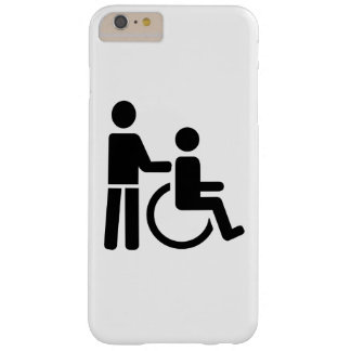 Wheelchair nurse barely there iPhone 6 plus case
