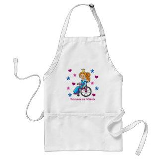 Wheelchair Princess Standard Apron