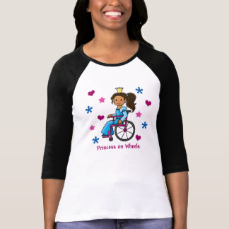 Wheelchair Princess T-Shirt