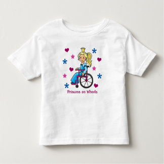 Wheelchair Princess Toddler T-Shirt