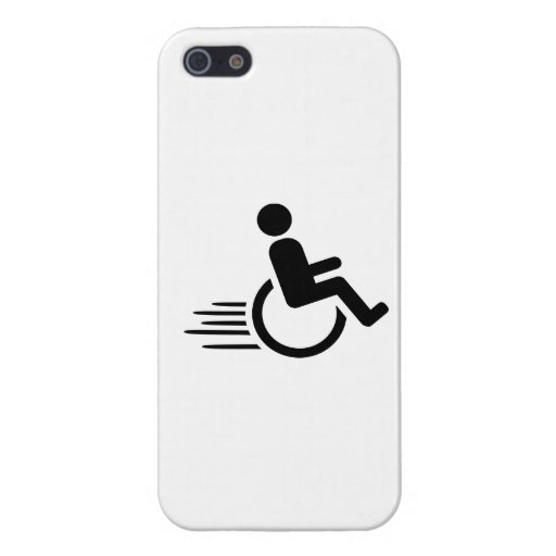 Wheelchair racing case for iPhone 5