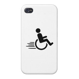 Wheelchair racing iPhone 4 cases