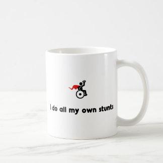 Wheelchair Rugby Hero Basic White Mug