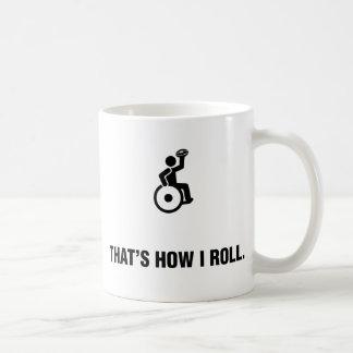 Wheelchair Rugby Classic White Coffee Mug