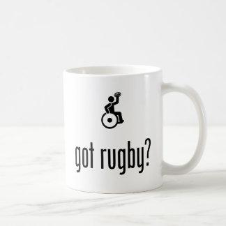 Wheelchair Rugby Coffee Mug