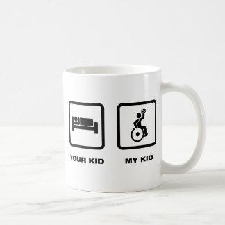 Wheelchair Rugby Basic White Mug
