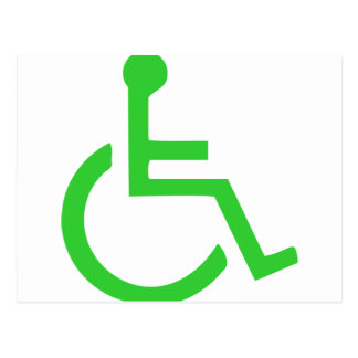 Wheelchair Symbol Post Cards