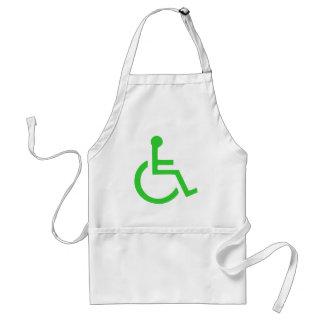 Wheelchair Symbol Standard Apron