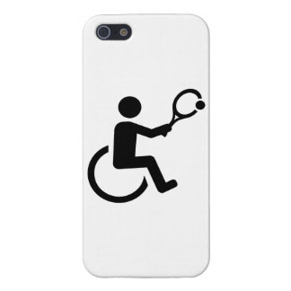 Wheelchair tennis case for the iPhone 5
