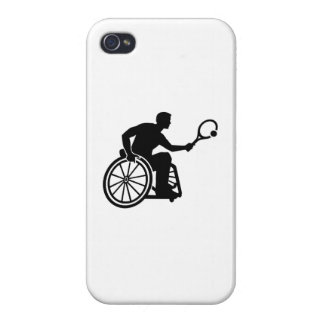 Wheelchair tennis cases for iPhone 4