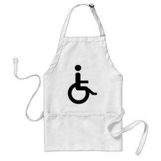 wheelchair user standard apron