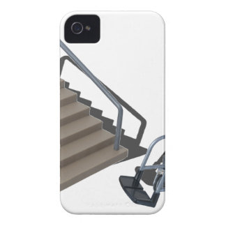 WheelchairAndStairs080214 copy iPhone 4 Case-Mate Case