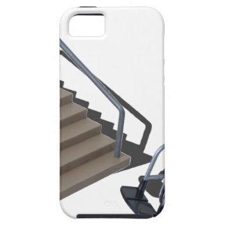 WheelchairAndStairs080214 copy iPhone 5 Cover