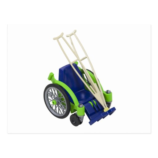WheelchairCrutches013110 Post Card