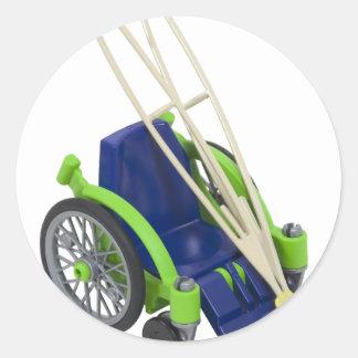 WheelchairCrutches013110 Sticker