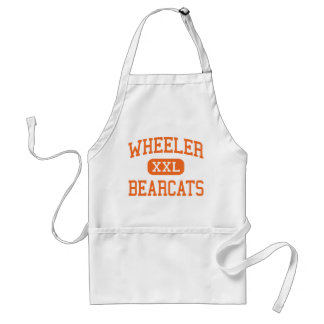 Wheeler - Bearcats - High - Valparaiso Indiana Adult Apron