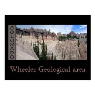Wheeler Geological area Postcard