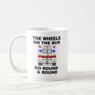 Wheels on the Bus - Ambulance (cup) Basic White Mug