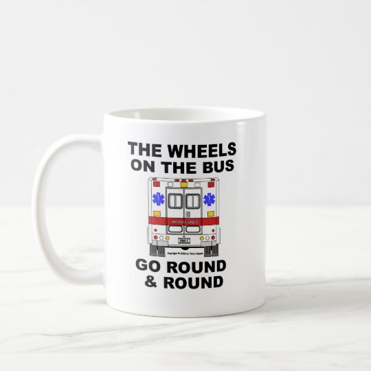 Wheels on the Bus - Ambulance (cup) Coffee