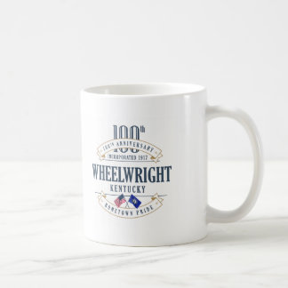Wheelwright, Kentucky 100th Anniversary Mug