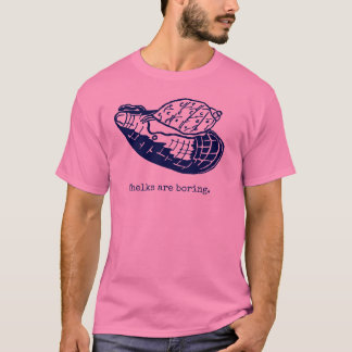 Whelks are boring Men pink T-Shirt