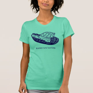 Whelks are boring Womens' green T-Shirt