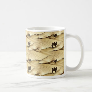 When a Camel Meets A Camel Basic White Mug
