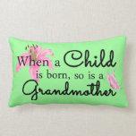 When a child... pillows