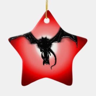 When a Dragon smiles Christmas Ornament