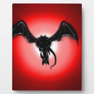 When a Dragon smiles Plaque
