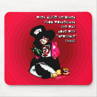When Alice Returned by Aleta Mouse Mat