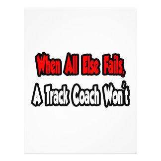 When All Else Fails A Track Coach Won t Flyers