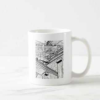 When Automobiles Ruled the Earth Basic White Mug