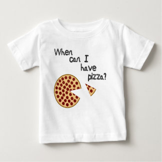 When can I have pizza? Baby T-Shirt