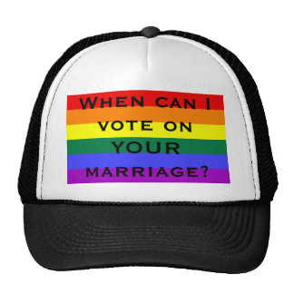 When can I vote on YOUR marriage? Cap