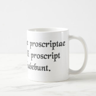 When catapults are outlawed....... coffee mug