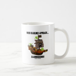 When Deadlines Approach... Aaarrrggghhh! (Android) Coffee Mug