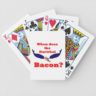 When does the narwhal bacon card decks
