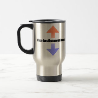 When Does the Narwhal Bacon Upvote Reddit Question Mugs