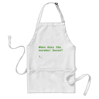 When Does the Narwhal Bacon VGA Reddit Question Standard Apron