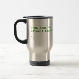 When Does the Narwhal Bacon VGA Reddit Question Mugs