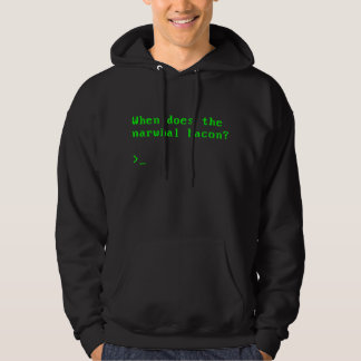 When does the Narwhal Bacon VGA Reddit Question Sweatshirts